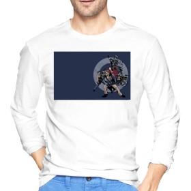 THE WHO KAGAWASHIN Tシャツ メンズ 長袖 綿 無地 軽い 柔らかい シルエット おしゃれ ファッション 人気 快適 薄手 春秋