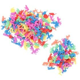 水成長する恐竜/海の動物/蝶/バラは子供のためのギフトをもてあそびます - 210個-干支動物