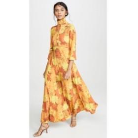エラリー Ellery レディース ワンピース ワンピース・ドレス Soiree Mock Neck Dress Orange Floral