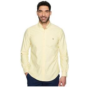 [Polo Ralph Lauren(ポロラルフローレン)] シャツ・ワイシャツ等 Standard Fit Oxford Sport Shirt Yellow (XS) [並行輸入品]