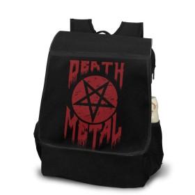Death Metal Pentagram リュック 軽量 リュックサック ショルダー バックパック パソコン収納 デイリーリュック 多機能 通勤 通学 旅行 ハイキング おしゃれ 大容量 ユーモア 面白い 4840