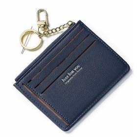 LilyAngel レディースショートミニ財布マルチカード財布 (Color : ブルー)