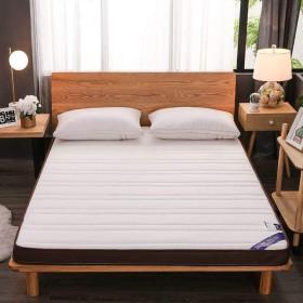 厚く 折り畳み式 畳のマットレス, 記憶泡 布団 パッドを睡眠 通気性 マットレス パッド シングル ・ ダブル-ホワイト 150x200cm