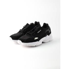 SLOBE IENA 【adidas /アディダス】 FALCON Wスニーカー ブラック 24.5