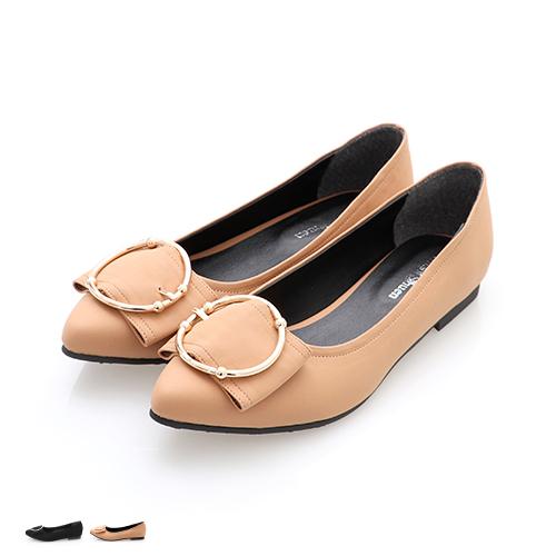 包鞋韓劇必搭底跟平底娃娃鞋