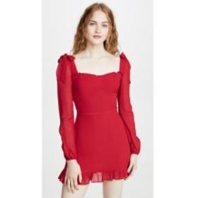 リフォーメーション Reformation レディース ワンピース ワンピース・ドレス Elin Dress Cherry