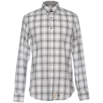 《セール開催中》MAURO GRIFONI メンズ シャツ ホワイト 38 コットン 100%