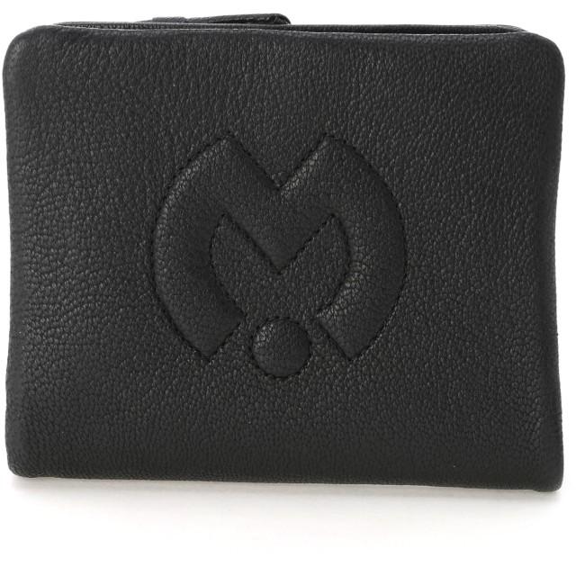 mila schon ミラ・ショーン テネーロ 二つ折り財布 財布,ブラック
