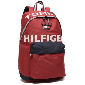 【SALE】【返品OK】トミーヒルフィガー バッグ TOMMY HILFIGER TC980HO9 RED/NAVY HOLLIS THー812 BACKPACK メンズ レディース リュック・バックパック RED/NAVY 赤 2019秋冬新作