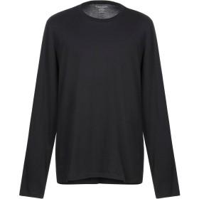 《期間限定セール開催中!》MAJESTIC FILATURES メンズ T シャツ ブラック S コットン 100%