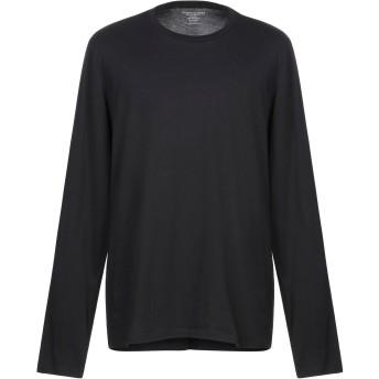 《セール開催中》MAJESTIC FILATURES メンズ T シャツ ブラック S コットン 100%