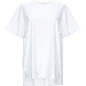 《セール開催中》ICEBERG レディース T シャツ ホワイト 40 コットン 100% / アセテート / シルク