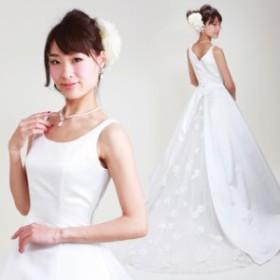 【ウェディングドレス レンタル 6号-7号】【Aライン】ウエディングドレス ウェディング ドレス 披露宴 6202 【往復送料無料】