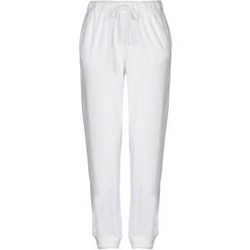 《期間限定セール開催中!》MAJESTIC FILATURES レディース パンツ ホワイト 1 コットン 50% / レーヨン 50%