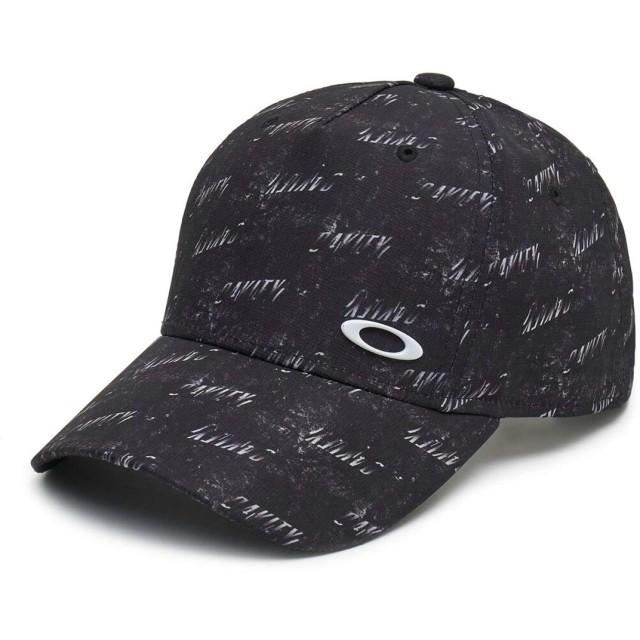 [オークリー] 帽子 LOGO CAP 13.0 メンズ BLACK PRINT 日本 ONE (FREE サイズ)