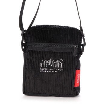 マンハッタンポーテージ Manhattan Portage Brisbane Moss Fabric City Light Bag (Black)