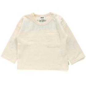エフオーオンラインストア バックプリント接結Tシャツ レディース アイボリー 110 【F.O.Online Store】