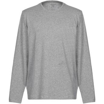 《セール開催中》MAJESTIC FILATURES メンズ T シャツ グレー L 100% コットン