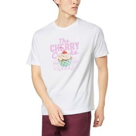 ウィゴー(メンズ)(WEGO) スイーツバリエーションフォトTシャツ【柄3/S】