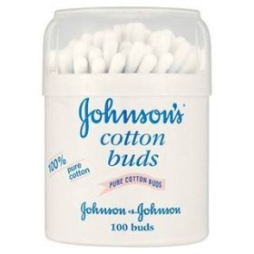 Johnson's Cotton Buds 100 Buds x Case of 6 by Johnson's