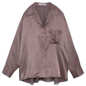 スナイデル シルクライクシャツ レディース MOC F 【SNIDEL】