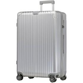 (tavivako/タビバコ)【BOTUNG】スーツケース LL 大型 TSAロック 超軽量 ダブルキャスター 8輪 アルミ風/ユニセックス シルバー