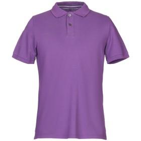 《期間限定セール開催中!》PEUTEREY メンズ ポロシャツ パープル XL コットン 100%