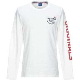 《セール開催中》JACK & JONES ORIGINALS メンズ T シャツ ホワイト M コットン 100%