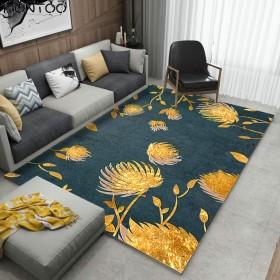 カーペット ラグ 洗える ラグマット 抽象的 滑り止め 北欧 モダン 西海岸 ホットカーペット対応 フランネル リビング 洗濯可能 敷物 絨毯 ホーム用品 家庭用 低反発 大きい
