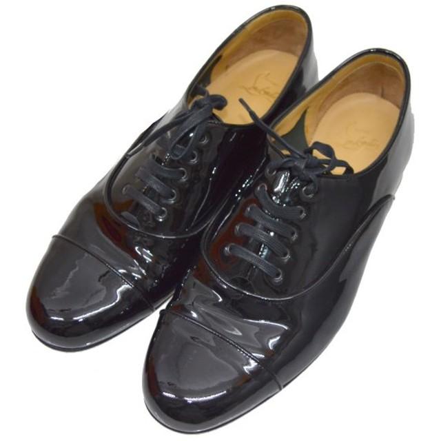 CHRISTIAN LOUBOUTIN パテントシューズ ブラック サイズ:43 (堀江店) 190924