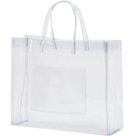 抗菌 透明ビニールバッグ Mサイズ