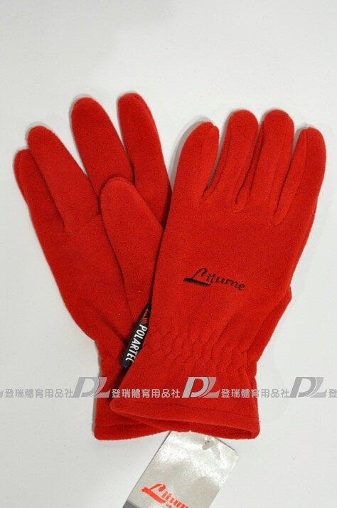 【登瑞體育】Litume 女生防風保暖手套  _ F102A2