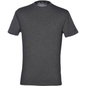《期間限定セール開催中!》DSQUARED2 メンズ アンダーTシャツ 鉛色 M コットン 95% / ポリウレタン 5%