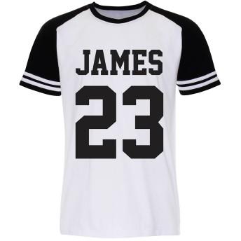 Lebron James Number 23 レブロンジェームズ Tシャツ (L, WB)