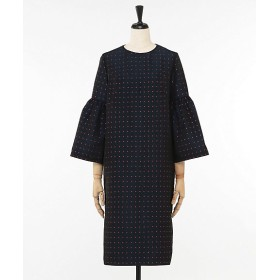 <Room8> H/GROSS BIG SLEEVE DRESS NAVY【三越・伊勢丹/公式】