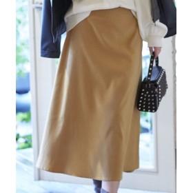 あったかインナーパンツ付フェイクスエードロングスカート (ロング丈・マキシ丈スカート)Skirts, 裙子