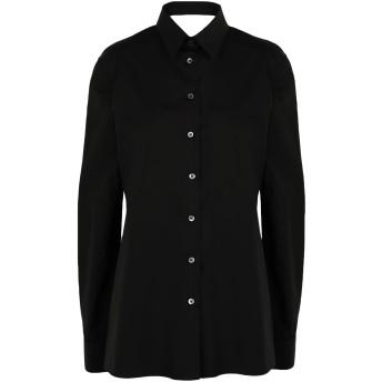 《セール開催中》MAISON MARGIELA レディース シャツ ブラック 36 コットン 100%