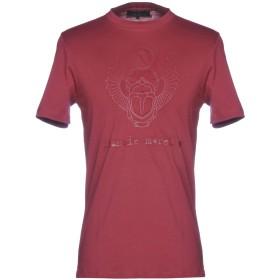 《期間限定セール開催中!》FRANKIE MORELLO メンズ T シャツ ボルドー XL 100% コットン