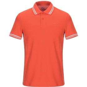 《セール開催中》LOTTO メンズ ポロシャツ オレンジ S コットン 100%