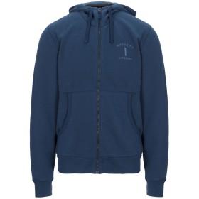《期間限定セール開催中!》HACKETT メンズ スウェットシャツ ブルーグレー S コットン 50% / ポリエステル 50%
