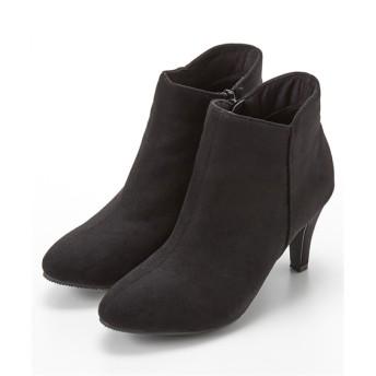 ポインテッドトゥVカットショートブーツ ブーツ・ブーティ, Boots