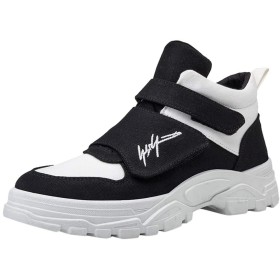 [LHWY] メンズ レザーブーツ ブリティッシュ スタイル 滑り止め 耐摩耗 ハイカット ツーリング ブーツ