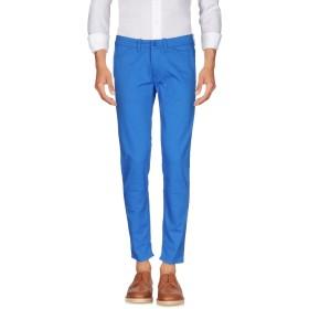《期間限定セール開催中!》PAOLO PECORA メンズ パンツ ブライトブルー 32 コットン 97% / ポリウレタン 3%