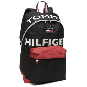 【SALE】トミーヒルフィガー バッグ TOMMY HILFIGER TC980HO9 BLACK/RED HOLLIS THー812 BACKPACK メンズ レディース リュック・バックパック BLACK/RED 黒 2019秋冬新作