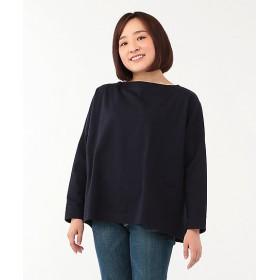 【送料無料】<Traditional Weatherwear/トラディショナル ウェザーウェア> 大きいサイズ シンプルカットソー NAVY(KM04)【三越・伊勢丹/公式】