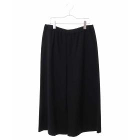 HIROKO BIS GRANDE 【洗える】ヴィスポンチ ガウチョパンツ その他 パンツ,ブラック