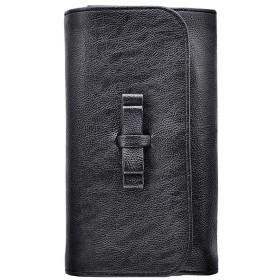 Poonikuu化粧品袋 トイレタリーバッグ コスメポーチ 洗面用具入れ 化粧ポーチ 旅行出張 アウトドア レディース ブラック