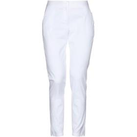 《セール開催中》TWINSET レディース パンツ ホワイト XS コットン 76% / ナイロン 21% / ポリウレタン 3%
