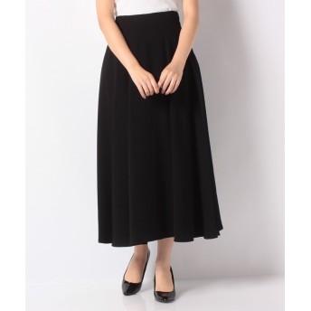 【30%OFF】 ロアナ Aラインフレアースカート レディース ブラック F 【LOANA】 【セール開催中】