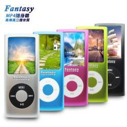 【B1840A】Fantasy 超薄四代1.8吋彩色螢幕 MP4隨身聽(內建16GB記憶體)(送6大好禮)